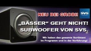 SVS Subwoofer - brachialer Bass für jeden Geldbeutel