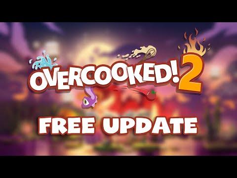Overcooked!2 10/1免費更新