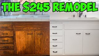 The $245 Kitchen Remodel