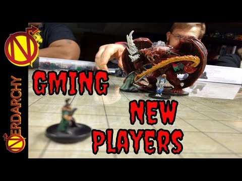 GMing For New D&D Players from the Table of Nerdarchy| DnD Discussions