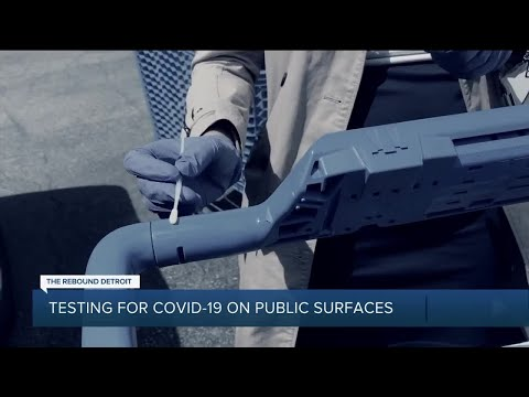 Metro Detroit surfaces swabbed for the coronavirus : Find out the results of our test