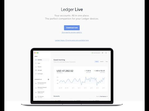 Ledger Live Новое приложение для аппаратных кошельков Ledger