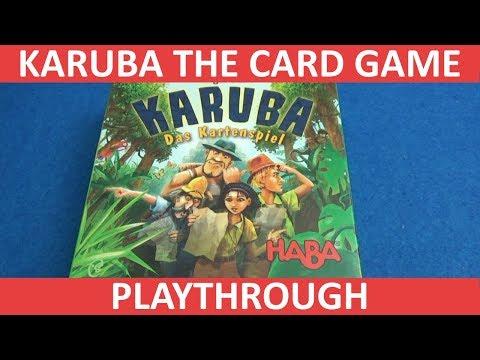 Karuba: The Card Game - Playthrough