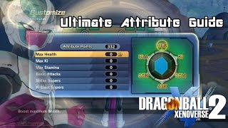 The ULTIMATE Stat & Attribute Guide | Dragon Ball Xenoverse 2