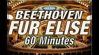 Beethoven's Fur Elise 60 Minutes Version FULL HD 1080p (With Rain in Video and Background)
