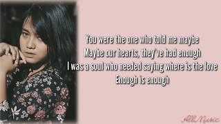 Where Is The Love   Hanin Dhiya Ft. NIve (lyrics)