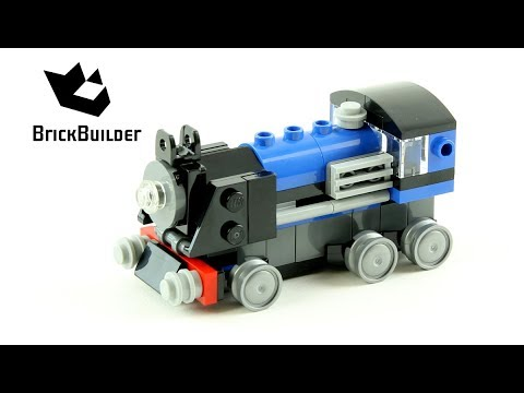 Vidéo LEGO Creator 31054 : Le train express bleu