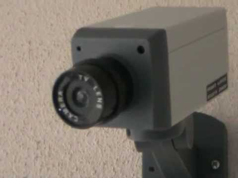Fake Realistic Looking Security Camera Detector from Budgetgadgets.com