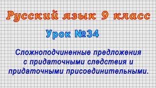 Русский язык 9 класс Урок 34