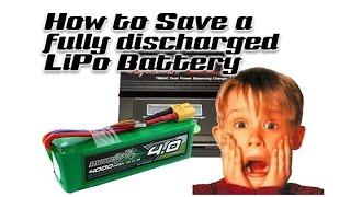 Fix a Dead Lipo Battery - Easy Method