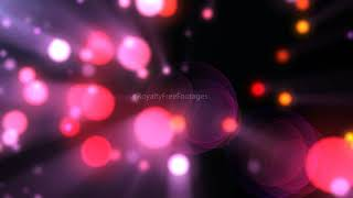 Bokeh overlay background | romantic love red particles wedding background | Royalty Free Footages
