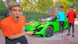 Did Lucas and Marcus Break my Lamborghini SHARERGHINI?!