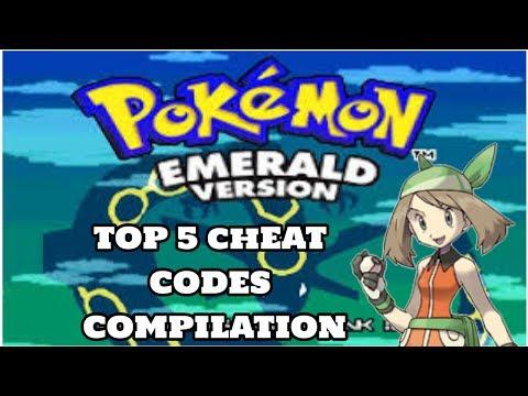 My TOP 5 Pokemon Emerald Cheat Codes // Cheat code compilation