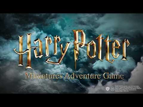 Harry Potter Miniatures Adventure Game / New Announcement video