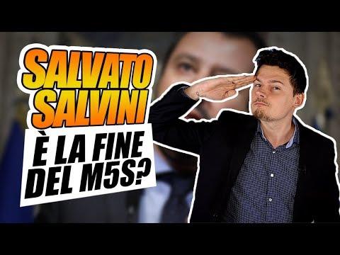 Voto Salva Salvini su Rousseau: la fine del M5S?