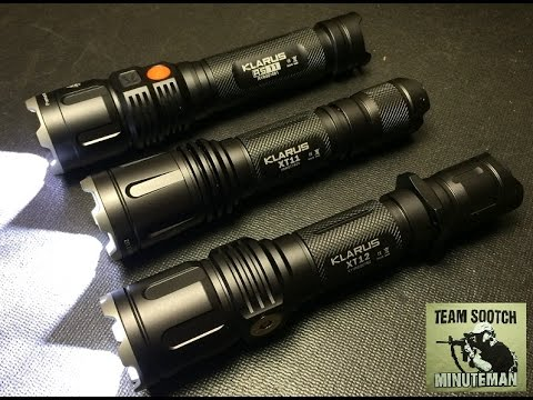 Klarus XT12 930 Lumen Rechargeable LED Flashlight Review