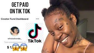 How to Get Paid on Tik Tok Tik Tok creator fund