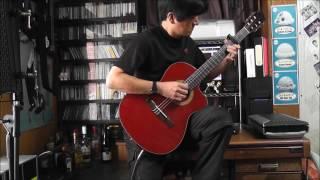 風のとおり道 (久石譲) ソロギター