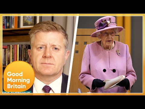 Royal Editor Reacts To Queen's Hospital Admission & Her Advancing Years | Good Morning Britain
