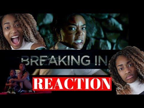 Reaction to Breaking In trailer #1