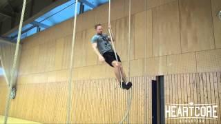 Rope Climb Technik Tutorial   HEARTCORE Athletics