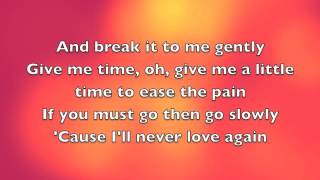Break It To Me Gently by Juice Newton - Cover