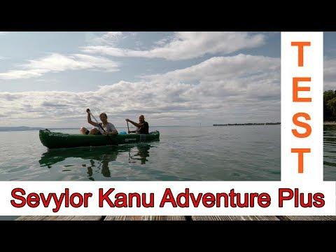 Testfahrt Sevylor Kanu Adventure Plus Bodensee 2018
