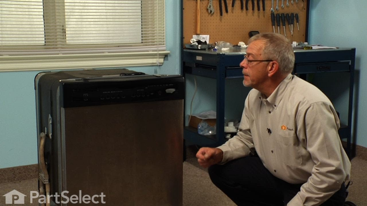 Replacing your Kenmore Dishwasher Upper Rack Wheel and Mount Assembly