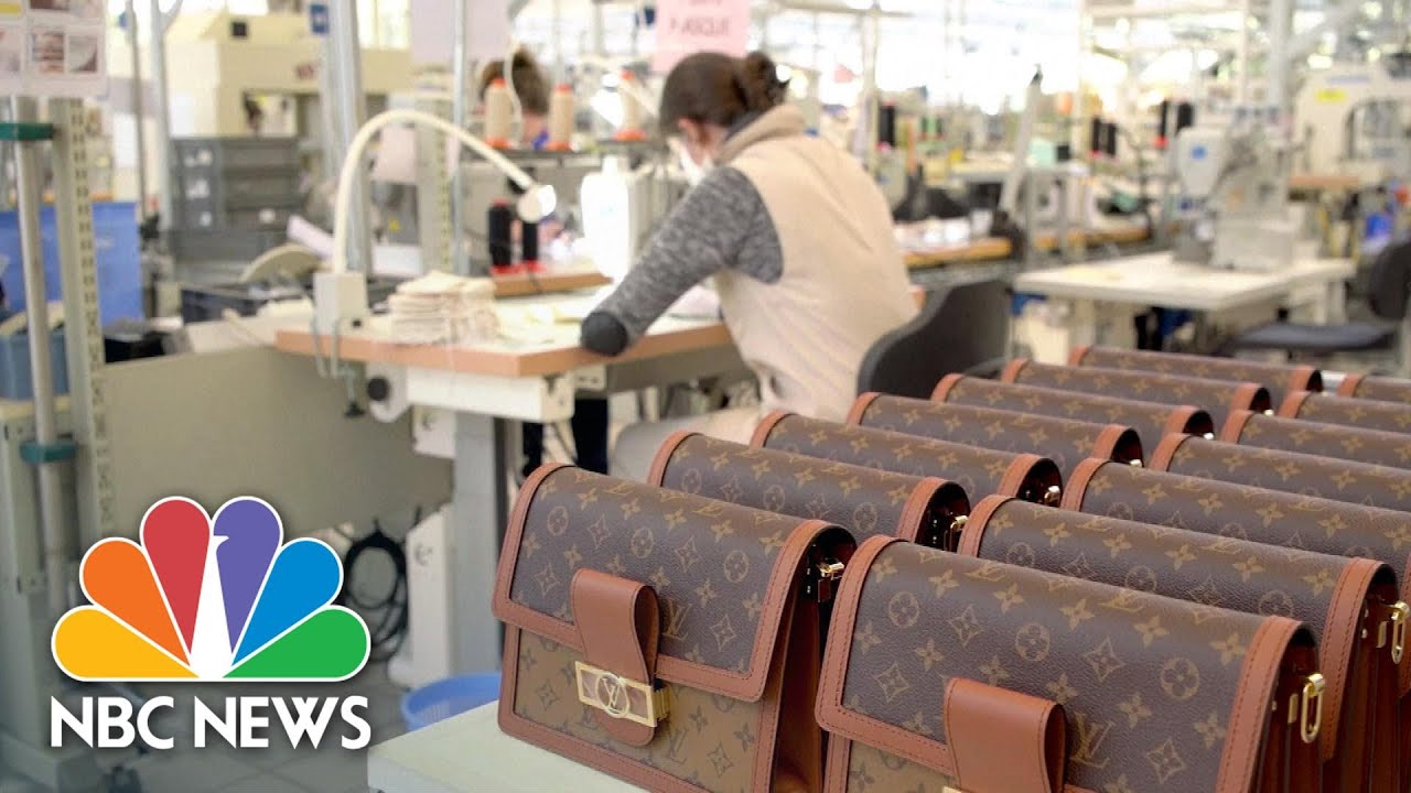 Louis Vuitton Switches From Purses To Face Masks To Meet COVID-19 Demand | NBC News