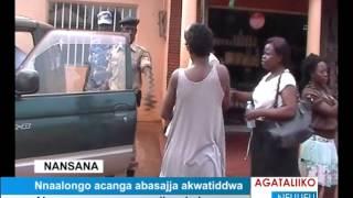 Nnaalongo Acanga Abasajja Akwatiddwa