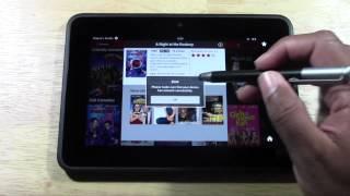 Netflix on Kindle Fire HD