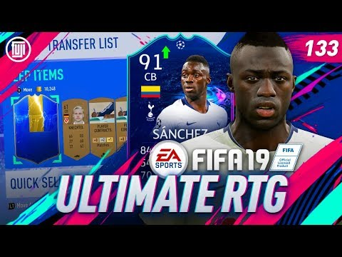 GOLD TOTS IN A BRONZE PACK!!! ULTIMATE RTG - #133 - FIFA 19 Ultimate Team
