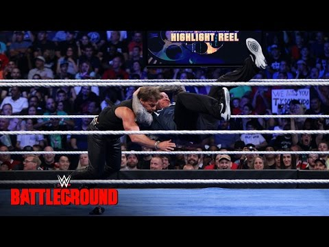 A returning Randy Orton RKOs Chris Jericho: WWE Battleground 2016 on WWE Network
