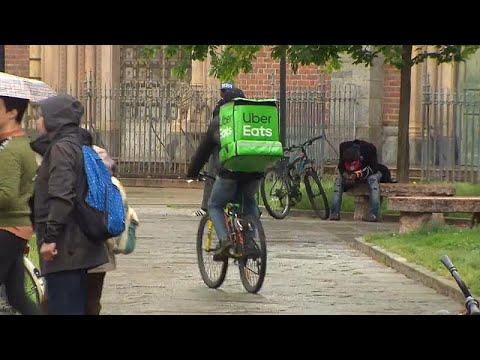Ιταλία: Έρευνα κατά της Uber Eats