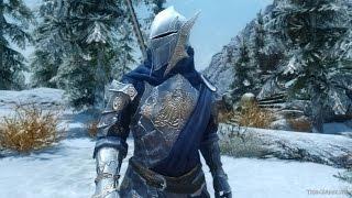 Skyrim:мод на броню Блистательная (священная) броня и оружие