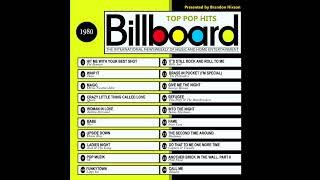 Billboard Top Pop Hits - 1980