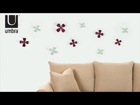 Video for Wallflower Wall Décor, Set of Ten
