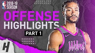 Derrick Rose BEST Offense Highlights from 2018-19 NBA Season! VINTAGE MVP MODE (Part 1)