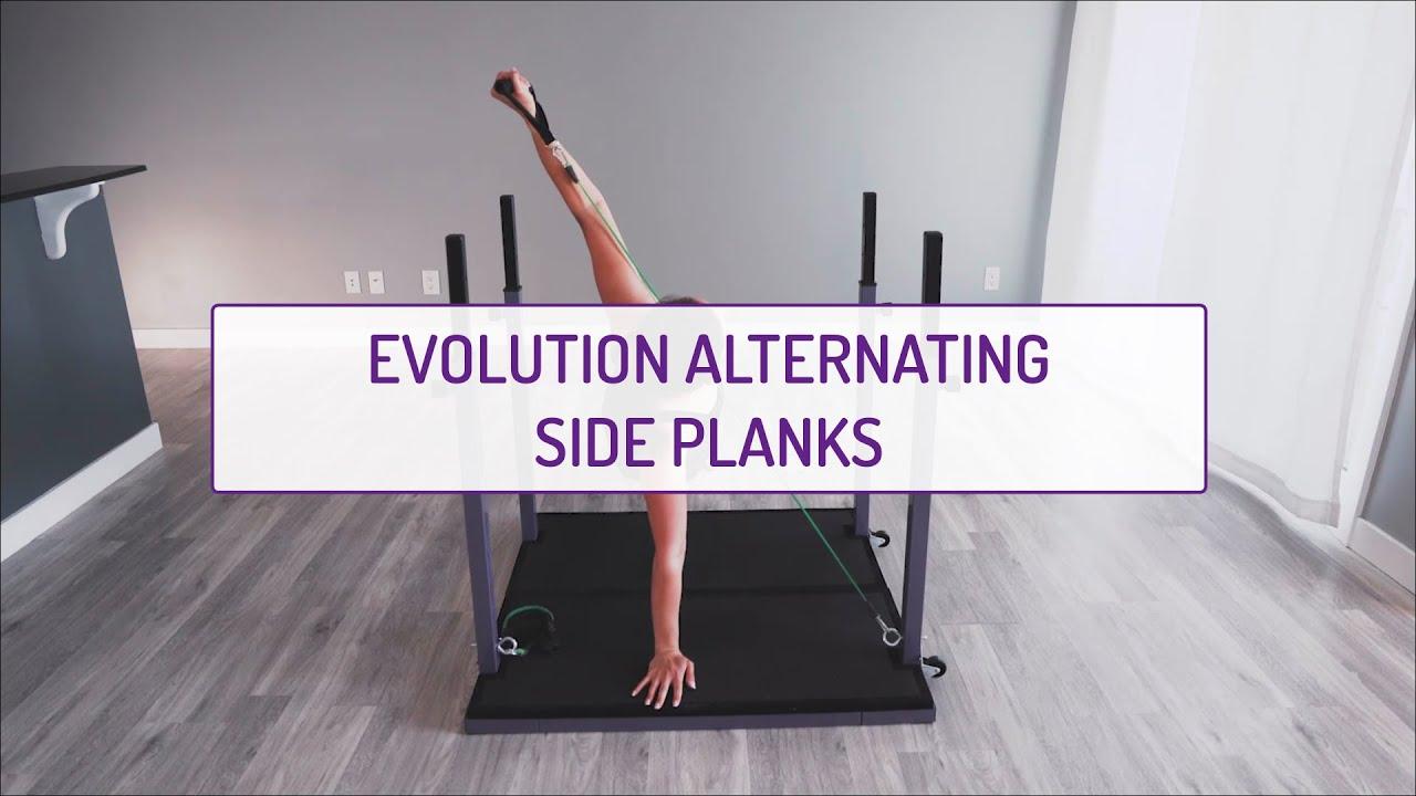 Evolution Alternating Side Planks