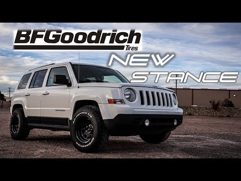 2015 Jeep Patriot gets new Wheel and Tire set up, No Lift! / Problems