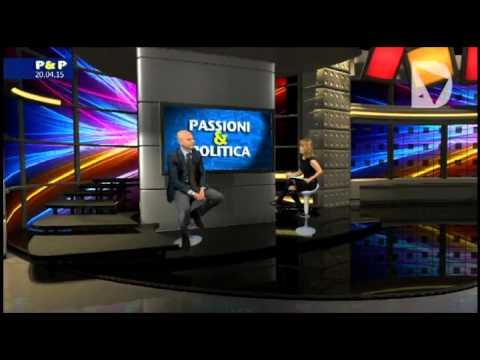 Passioni & Politica - Il candidato governatore di Forza Italia alla prossime elezioni regionale intervistato da Elisabetta Matini.