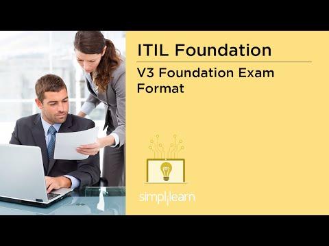 ITIL V3 Foundation Exam Format | ITIL V3 Certification Training ...