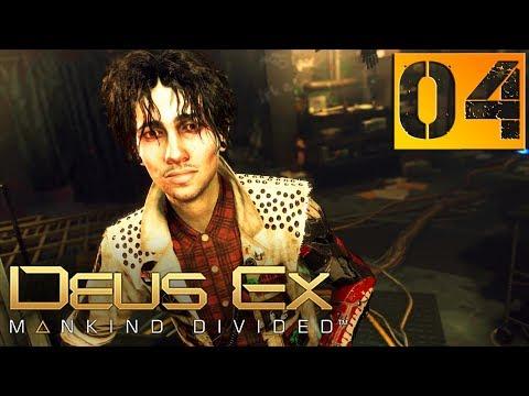 Deus Ex Mankind Divided Прохождение Часть 4 (Настоящий Deus Ex, Призрак) \