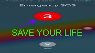 HOW TO SAVE YOUR LIFE IN A DANGEROUS SITUATION!!