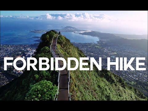 ILLEGAL FAMOUS STAIRWAY TO HEAVEN HIKE (Haiku Stairs)
