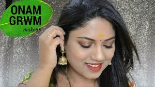 Image for video on Onam Get Ready With Me | Ria Rajendran by Ria Rajendran