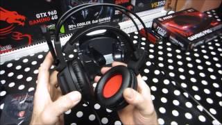 MSI DS 502 Headset TOOOOOP