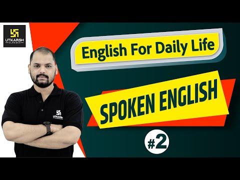 English For Daily Life #2 | Spoken English | English For Everyone | By Ravi Sir