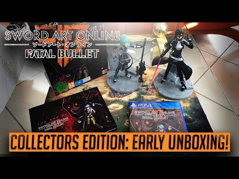 UNBOXING! - Sword Art Online: Fatal Bullet - COLLECTORS EDITION - The worst Sinon figure ever made?!