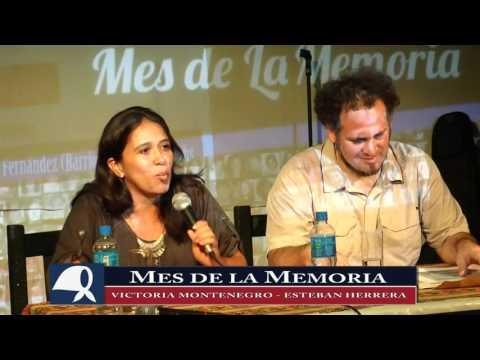 <p>La nieta Victoria Montenegro y Esteban Herrera, que busca a su hermano o hermana nacido en cautiverio, dieron una charla en Luján.</p>